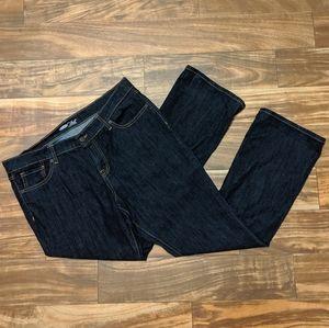 Old Navy the flirt women jeans size 14 bootcut